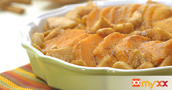Candied Sweet Potatoes with Apple