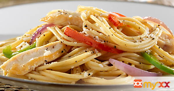 Barilla Spaghetti with Chicken and Vegetables