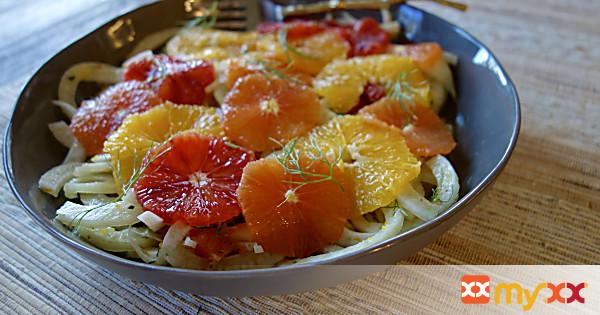 Rosemary Citrus Fennel Salad