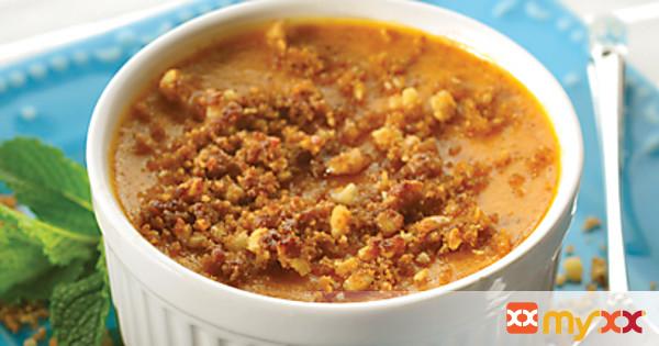 Pumpkin Caramel Cream Pudding