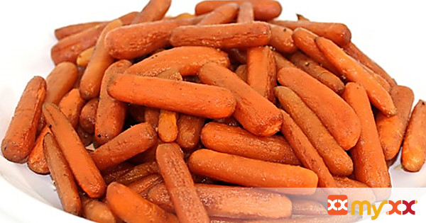 Oven Roasted Balsamic Carrots