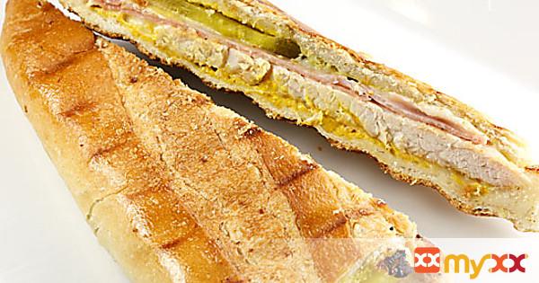 Skinny Turkey Cuban Sandwich
