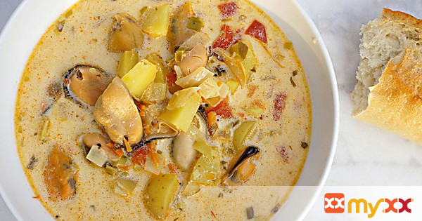 French Mussel Bisque