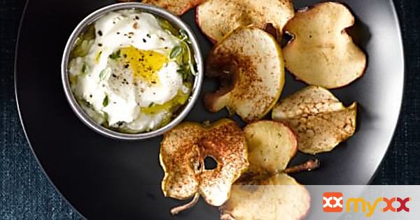 Air Fried Apple Chips