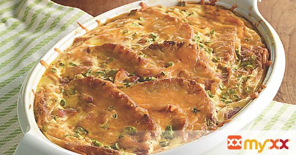 Cheesy Hash Brown Breakfast Casserole