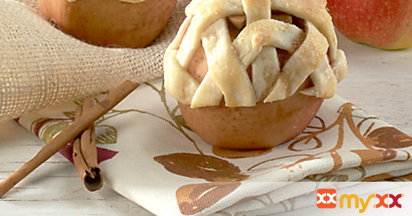 Baked Apple Pie -Whole Apples