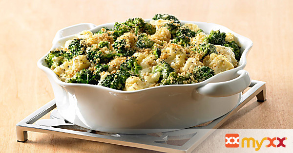 Cauliflower Broccoli Casserole