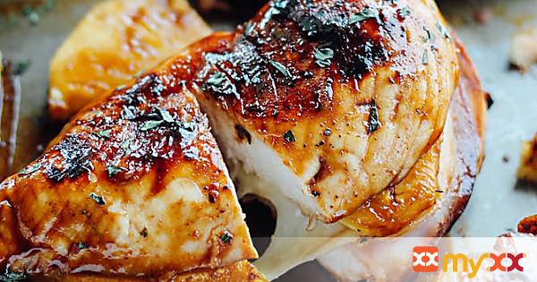 Grilled Hawaiian Stuffed Chicken Melt