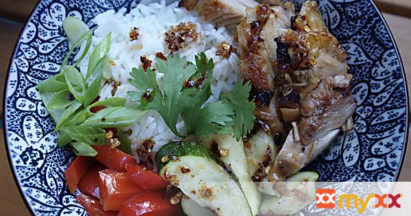 Grilled Teriyaki Chicken Bowl