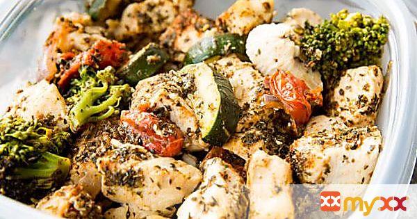 Easy Italian Chicken Bowls