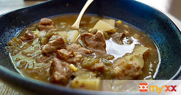 Pork Green Chile Stew