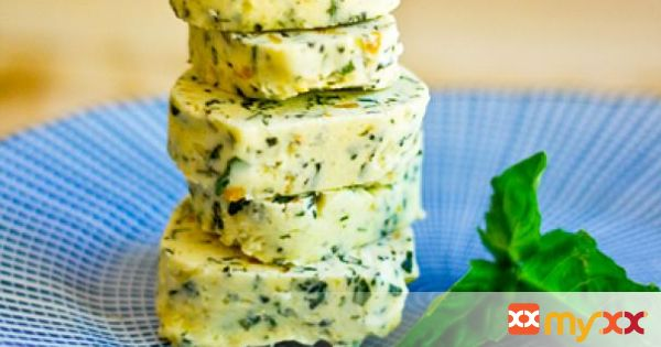Basil and Orange Confit Compound Butter