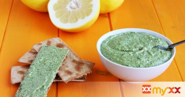 Basil Grapefruit Pesto