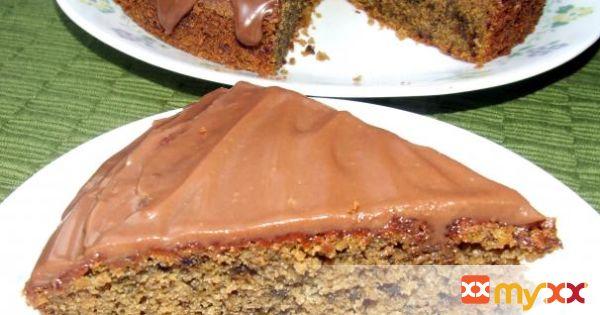 Beet Cake With Ganache Glaze