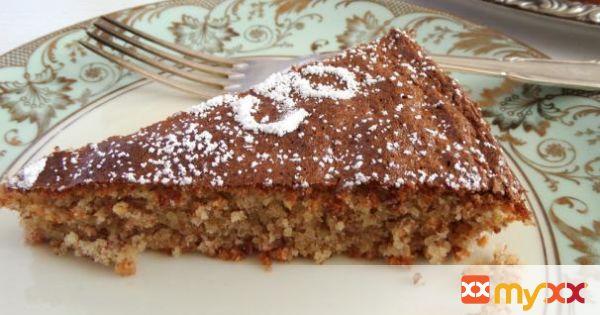Arab Almond Cake