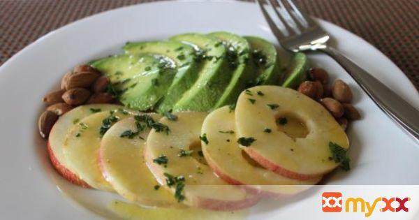Avocado & Apple Salad (Ensalada de Aguacate y Manzana)