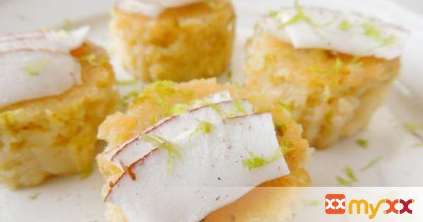 Baked Grated Coconut dessert