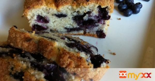 Blueberry Chia-Poppy Seed Loaf - Gluten and Dairy Free