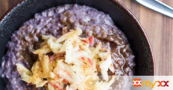 Blueberry Cinnamon Porridge