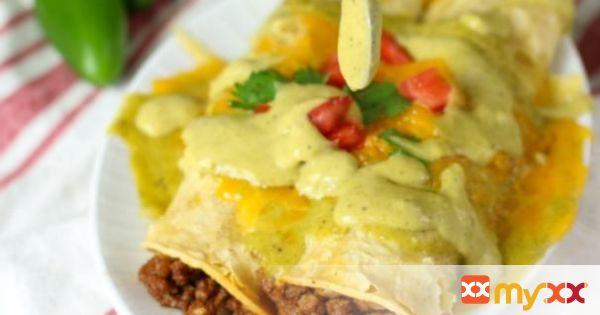 Boom Boom Beef Enchiladas