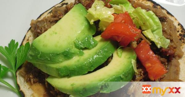 Adobo Pork Tostadas