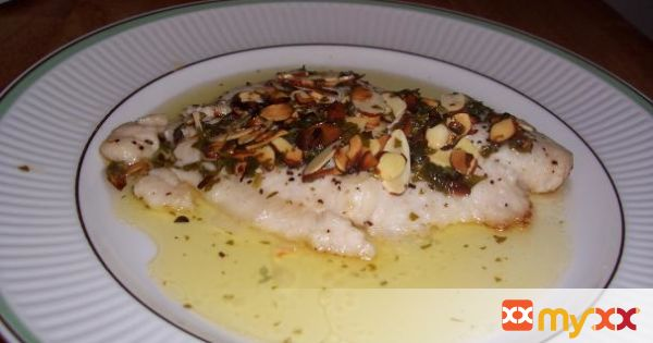 Broiled Flounder Amandine