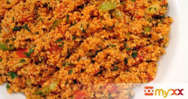 Bulgur Salad a Traditional Turkish Kisir Recipe