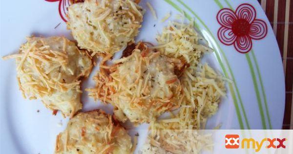 Cheesy Rice Puffs