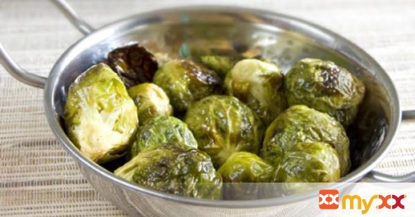 Honey Dijon Roasted Brussels Sprout