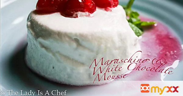 Maraschino & White Chocolate Mousse