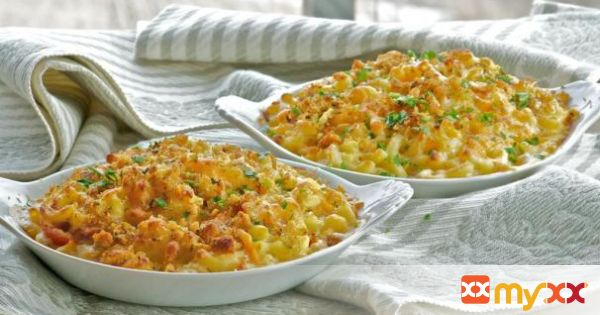 Macaroni and Cheese Gratin