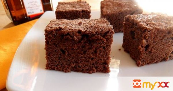 Orange Liqueur {Cointreau} Brownies