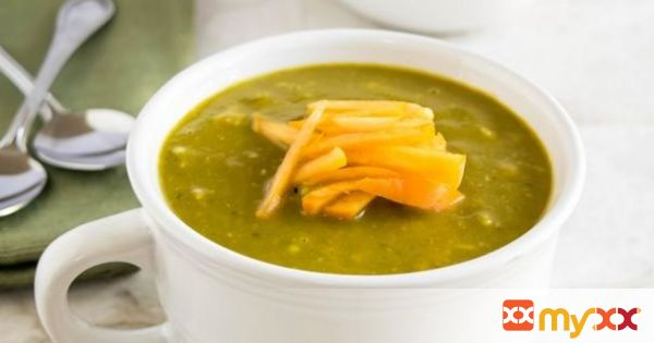 Persimmons kale avocado soup