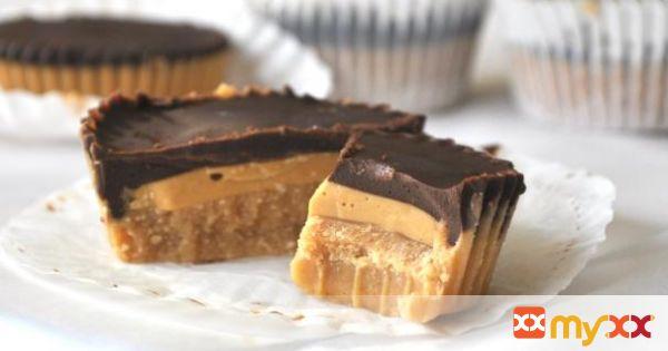 no-bake caramel reese's peanut butter cups