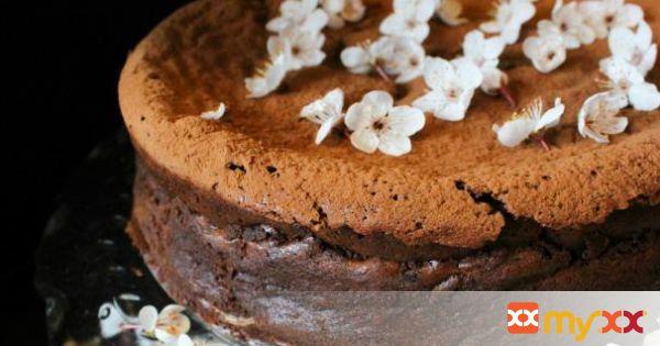 Plum Blossom Chocolate Torte