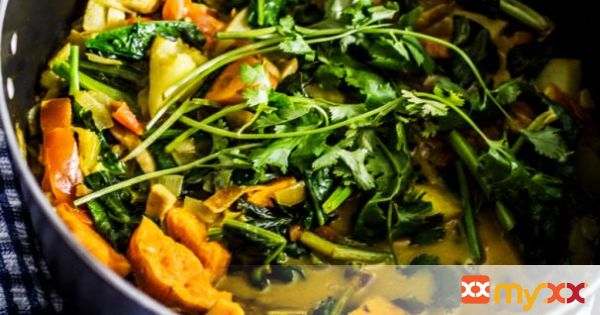 Potato & Coconut Curry