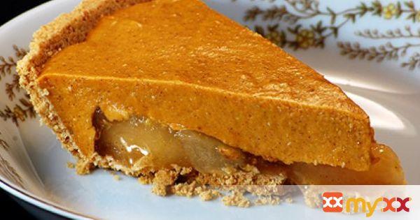Pumpkin Caramel Apple Pie