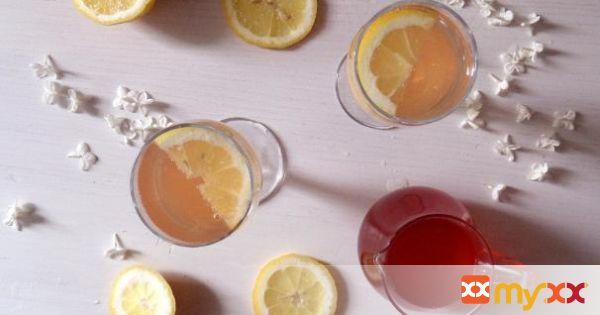 Rhubarb Peel Syrup
