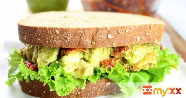 Sprouted Grain Chicken Pesto Sandwich