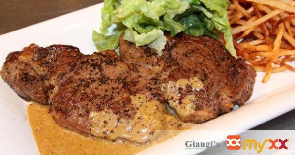 Steak, Frites et Salade