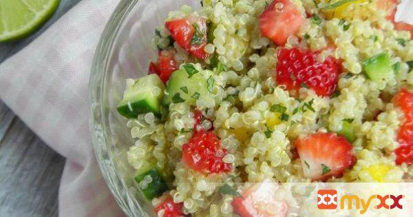 Strawberry-Mango Quinoa Salad