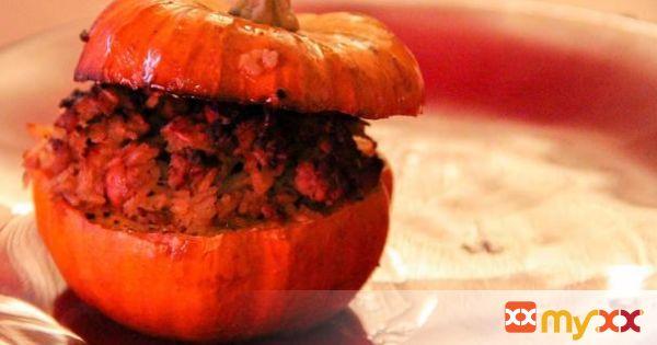 Stuffed Mini Pumpkins