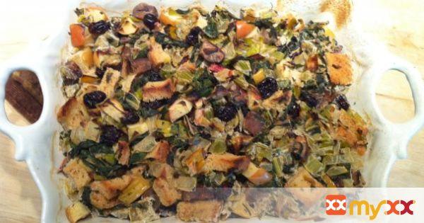 Thanksgiving Holiday Stuffing - gluten free, vegan