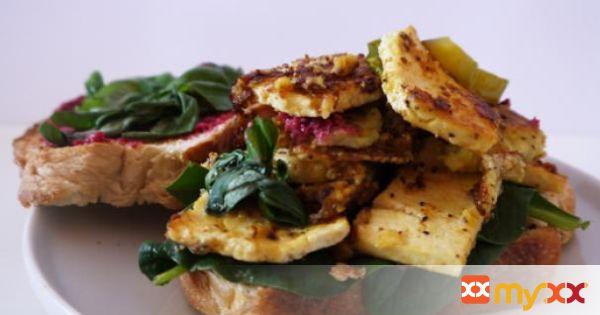 The Ultimate Tofu Club Sandwich