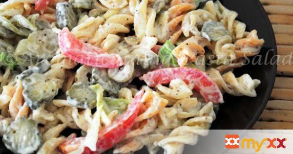 Tricolor Rotini pasta Salad