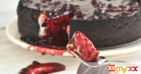 Very Berry New York Cheesecake