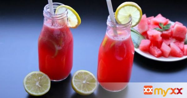 Watermelon Pink Lemonade Cooler -Celebrate Summer and Stay Cool with Icy Pink Cooler Drink!