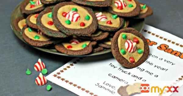 Whimsical Santa Cookies