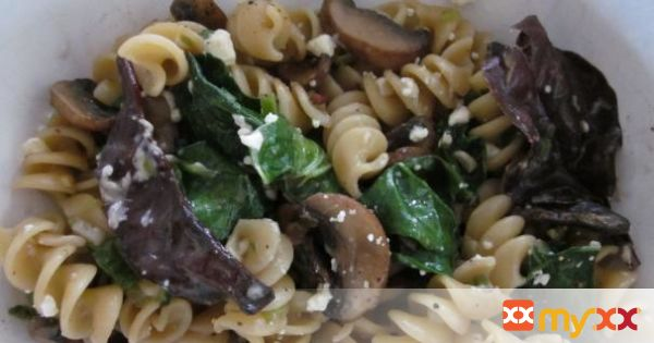 Winter Greens Pasta