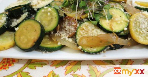 Summer Squash and Zucchini Saute